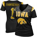 Nike Iowa Hawkeyes Ladies 2011 Replica Football Premium T-shirt - Black