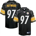 Reebok Cam Heyward Pittsburgh Steelers 2011 1st Round Draft Pick Replica Jersey - Black