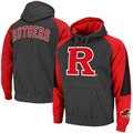 Rutgers Scarlet Knights Charcoal-Scarlet Playmaker II Pullover Hoodie Sweatshirt