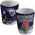 TCU Horned Frogs 2011 Rose Bowl Champions White 2oz. Shot Glass