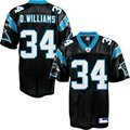 Reebok DeAngelo Williams Carolina Panthers Replica Football Jersey - Black