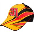 Chase Authentics Jeff Burton Yellow-Black Fragment Element Adjustable Hat