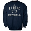 adidas New Hampshire Wildcats Navy Blue Collegiate Crew Sweatshirt