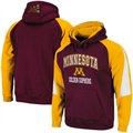 Minnesota Golden Gophers Maroon-Gold Playmaker Pullover Hoodie Sweatshirt