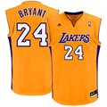 adidas Kobe Bryant Los Angeles Lakers Revolution 30 Performance Jersey - Gold-Purple