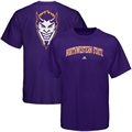 adidas Northwestern State Demons Purple Relentless T-shirt