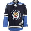 Reebok Florida Panthers Navy Blue Edge Premier Hockey Jersey