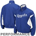 Majestic Kansas City Royals Royal Blue-White Therma Base Triple Peak Premier Performance Full Zip Jacket