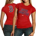 Nike Boston Red Sox Ladies Red Local T-shirt-