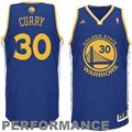 adidas Stephen Curry Golden State Warriors Revolution 30 Swingman Performance Jersey - Navy Blue