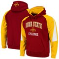 Iowa State Cyclones Cardinal-Gold Playmaker Pullover Hoodie Sweatshirt