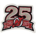 New Jersey Devils Embroidered 25th Anniversary Collectible Patch