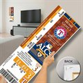 Texas Rangers 2010 ALCS Champions Mega Ticket