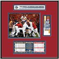 Texas Rangers 2010 ALCS Champions Ticket Frame Jr.