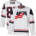 Nike Patrick Kane USA IIHF Twill Player Jersey - White