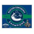 Vancouver Canucks 2011 NHL Western Conference Champions Lapel Pin