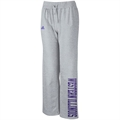 adidas Western Illinois Leathernecks Ladies Ash Word Plus Fleece Pants