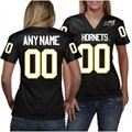 Alabama State Hornets Women's Personalized Football Jersey - Black