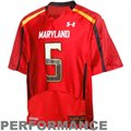 Under Armour Maryland Terrapins #5 Replica Football Jersey - Red