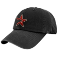 Twins Enterprise Houston Astros Black Franchise Fitted Hat
