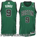 adidas Rajon Rondo Boston Celtics Revolution 30 Swingman Performance Jersey - Green