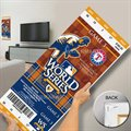 Texas Rangers 2010 World Series Mega Ticket