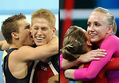 The U.S. men's and women's teams both overcame adversity to medal.