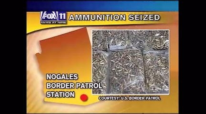 National guard leaving board; Nogales ammo bust