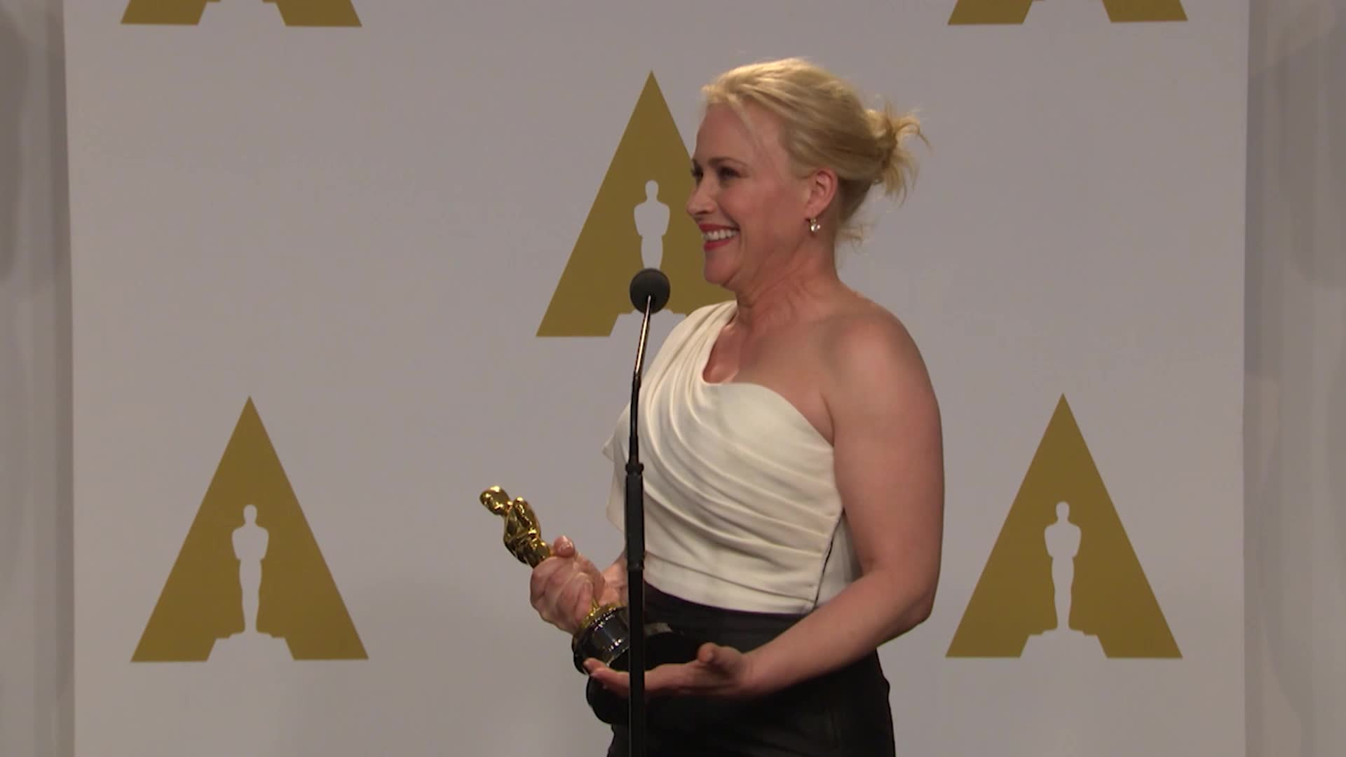 Patricia Arquette at the Oscars says Equal means equal