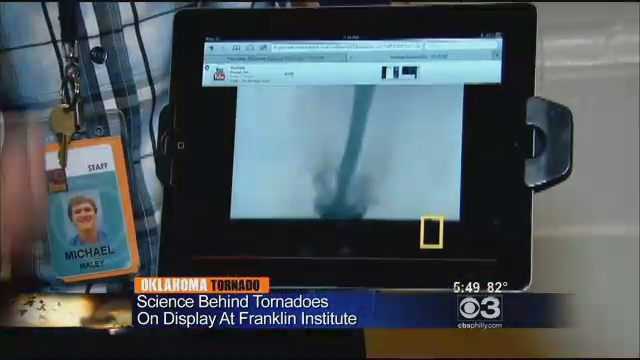 The Science Behind Tornadoes Takes Center Stage At Franklin Institute