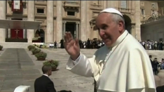 Pope Francis blesses bikies