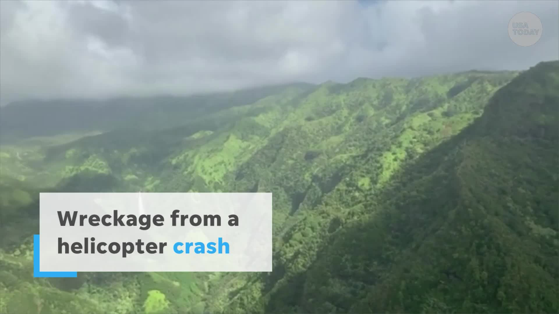 Police confirm pilot, six passengers died in Hawaii helicopter crash; recovery efforts suspended