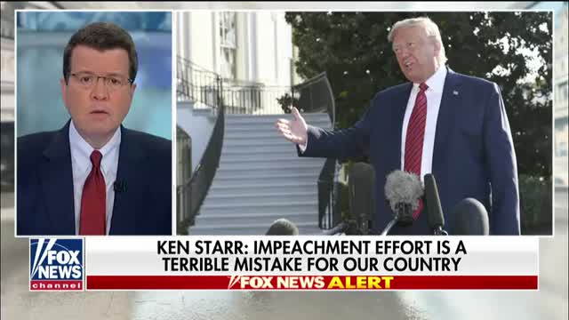 Ken Starrs warning to Democrats pushing to impeach President Trump