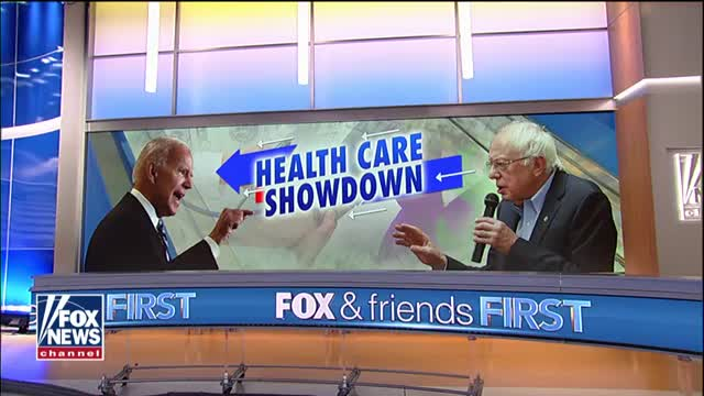 Joe Bidens campaign slams fellow Democrats and their push for Medicare-for-all