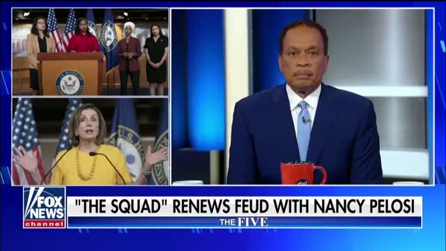 The Squad renews feud with Nancy Pelosi