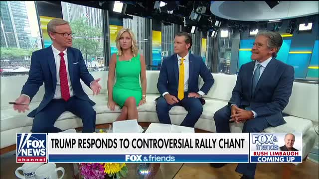 Geraldo Rivera says the president is the glue that holds our republic together