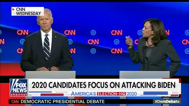 Cringeworthy: Former Obama adviser reacts to candidates targeting Biden at debate