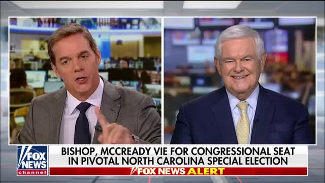 Newt Gingrich on pivotal North Carolina special election, Democrats hopeless impeachment inquiry