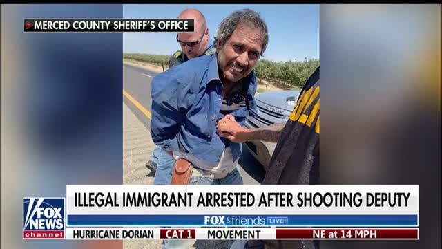 Illegal immigrant arrested in shooting of California sheriffs deputy