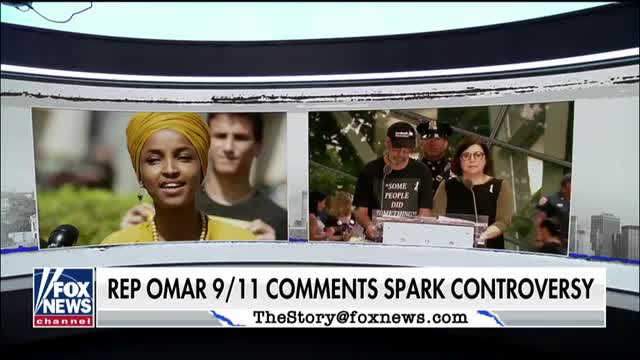 Son of 9/11 victim reacts to Rep. Omar defending her comments