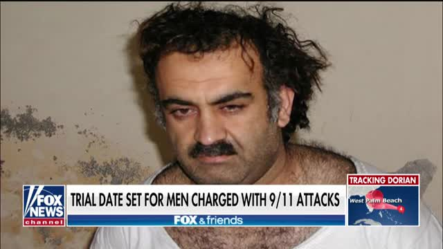 Trial date set for men charged with 9/11 attacks