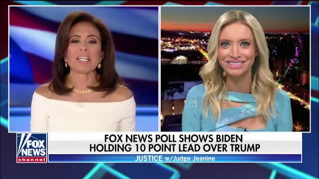 2020 Trump campaign press secretary reacts to Fox News poll showing Biden ahead of Trump