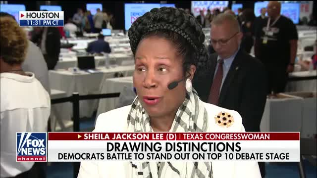 Rep. Sheila Jackson Lee defends House Democrats impeachment investigation