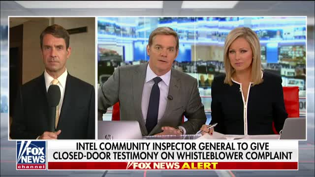 Intel IG testifies on whistleblower complaint of Trump making promise to foreign leader