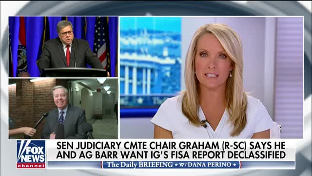 Senate Judiciary Committee Chair Graham says he and Attorney General Barr want IGs FISA report declassified
