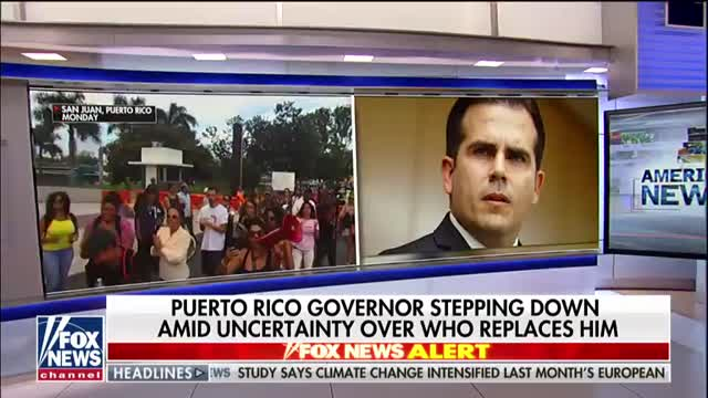 Puerto Ricos governor to step down amid uncertainty over replacement