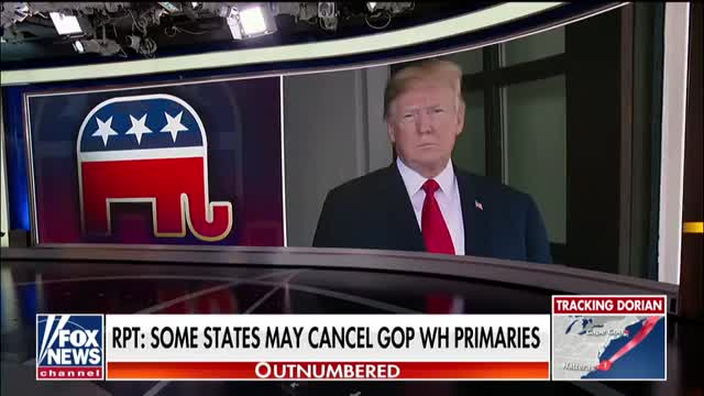 Trumps GOP challengers cry foul at report some states may cancel GOP presidential primaries