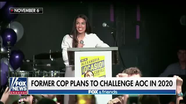 Former police officer plans to challenge Alexandria Ocasio-Cortez in 2020