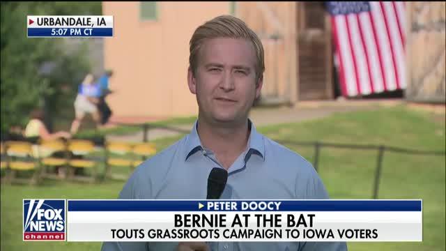 Joe Biden gets defensive about crowd size in Iowa