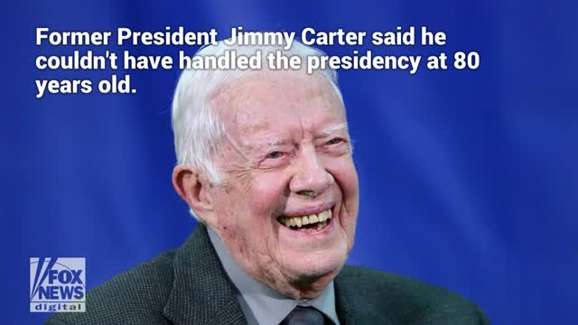 Jimmy Carter says he hopes theres an age limit for presidency in apparent jab at Joe Biden, Bernie Sanders